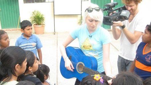 Amanda Jenssen i Ecuador