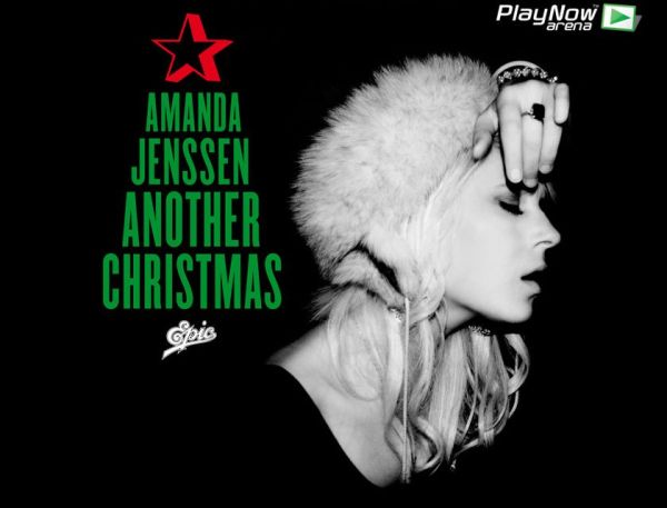 Amanda Jenssen julsingel Another Christmas
