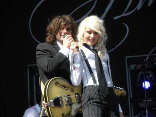 Amanda Jenssen och Pär Wiksten 2008
