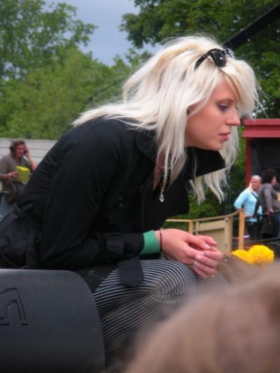 Amanda jenssen slapper skiva
