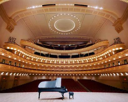Från Spykens aula till Carnegie Hall