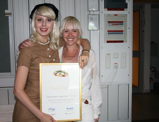 Amanda Jenssen på Sveriges Radio 2010