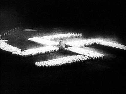 Bild ur Viljans Triumf av Leni Riefenstahl