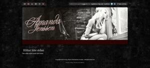amandas homepage