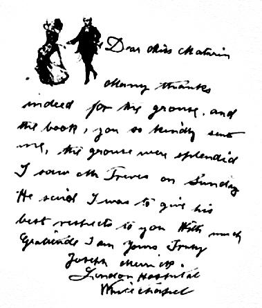 elefantmannens brev