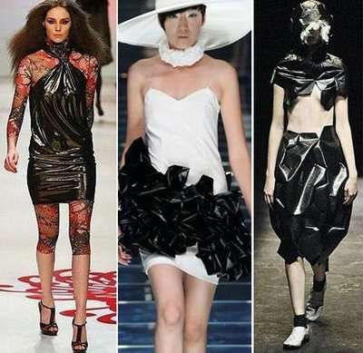 black bin bag couture