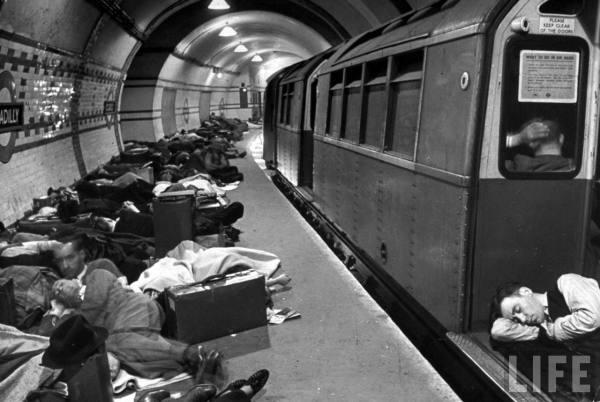 underground london blitzen