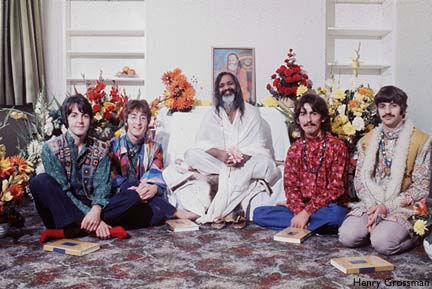 beatles maharishi