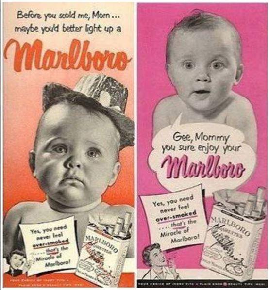 rökning reklam