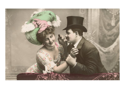 viktorianskt par