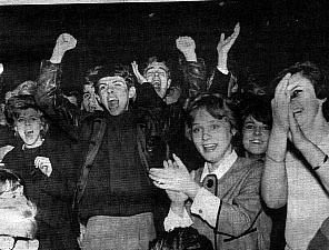 beatles fans 1963 tennishallen